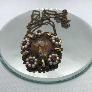 Vintage  very delicate Necklace Pendant